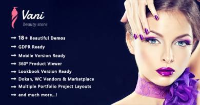 Vani | Cosmetic Beauty WooCommerce WordPress Theme 4