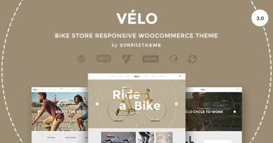 Velo - Bike Store Responsive Business Theme 4