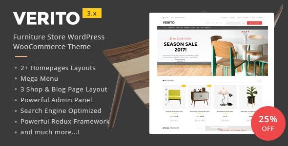 Verito - Furniture Store WooCommerce WordPress Theme 1