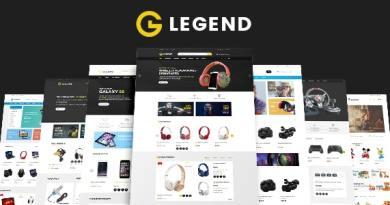 VG Legend - Responsive Multi-Purpose WordPress Theme 2