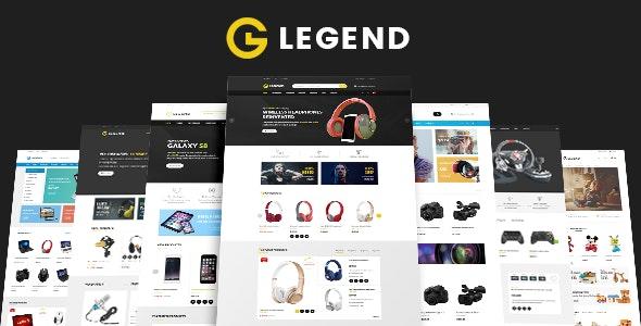 VG Legend - Responsive Multi-Purpose WordPress Theme 1
