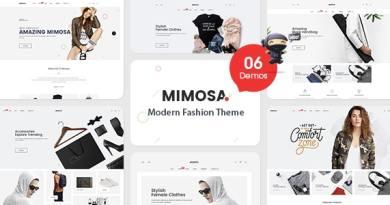 VG Mimosa - Modern Fashion WooCommerce WordPress Theme 2