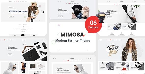 VG Mimosa - Modern Fashion WooCommerce WordPress Theme 1