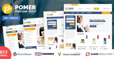 VG Pomer - Perfume Store WooCommerce WordPress Theme 4