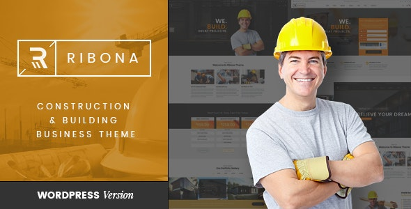 VG Ribona - WordPress Theme for Construction, Building Business 1