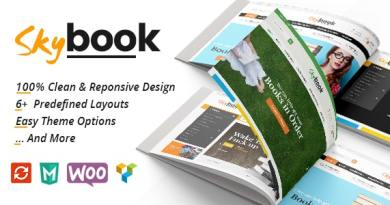 VG Skybook - WooCommerce Theme For Book Store 4