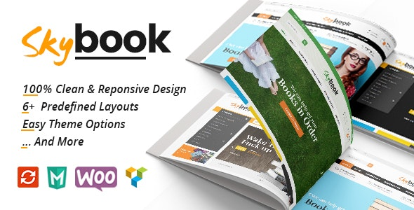 VG Skybook - WooCommerce Theme For Book Store 1