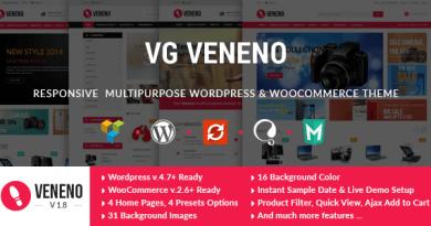 VG Veneno - Multipurpose WooCommerce Theme 3