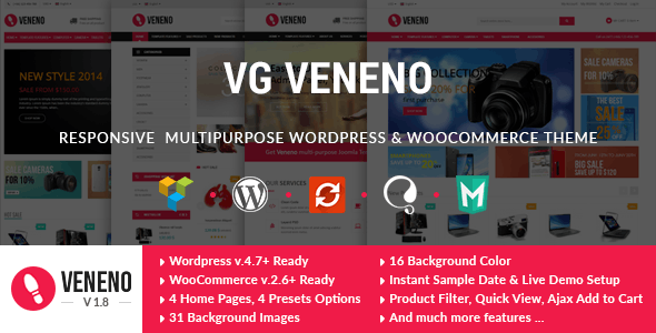 VG Veneno - Multipurpose WooCommerce Theme 8