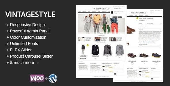 VintageStyle - Responsive E-commerce Theme 1