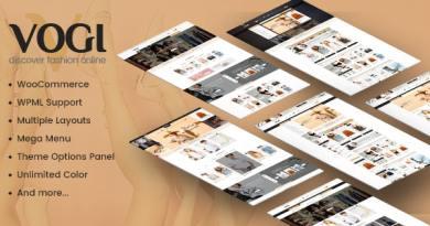 Vogi - Multipurpose WooCommerce WordPress Theme 2