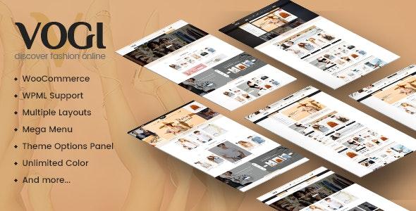 Vogi - Multipurpose WooCommerce WordPress Theme 1