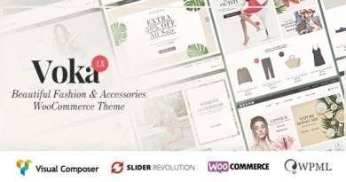 Voka - Fashion Cosmetic & Accessories WooCommerce Theme 3