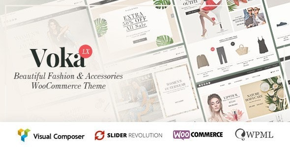 Voka - Fashion Cosmetic & Accessories WooCommerce Theme 1