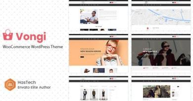 Vongi - WooCommerce WordPress Theme 3