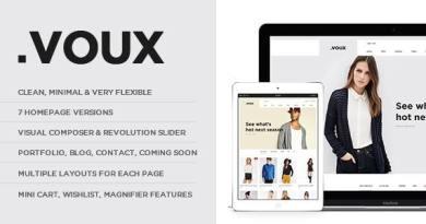 Voux Fashion Shopping Theme 9