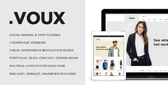 Voux Fashion Shopping Theme 20