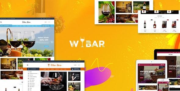 Wibar | Wine and Vineyard WooCommerce WordPress Theme 1