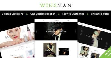 WINGMAN - Responsive WooCommerce Theme 12
