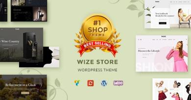 WizeStore - Multipurpose WooCommerce Shop 13