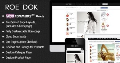 WooCommerce WordPress Theme - RoeDok 15