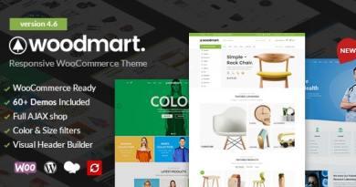 WoodMart - Responsive WooCommerce WordPress Theme 2