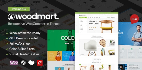 WoodMart - Responsive WooCommerce WordPress Theme 6