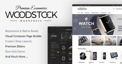 Woodstock - Electronics Store WooCommerce Theme 3