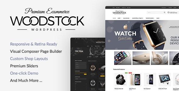 Woodstock - Electronics Store WooCommerce Theme 1