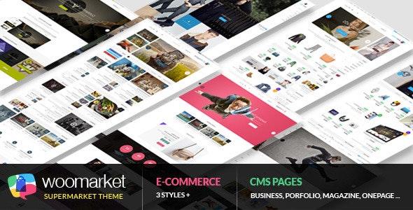 WooMarket - Supermarket WordPress WooCommerce Theme 1