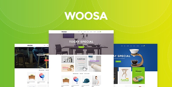 WooSa - Multipurpose Woocommerce WordPress Theme 1