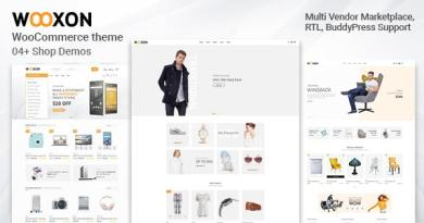 Wooxon - WooCommerce WordPress Theme 5