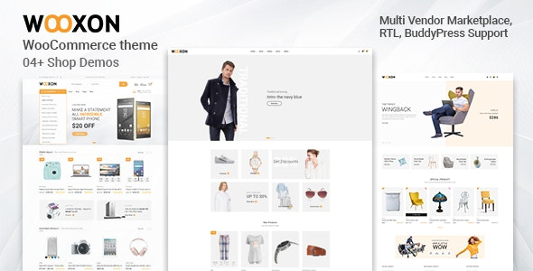 Wooxon - WooCommerce WordPress Theme 3