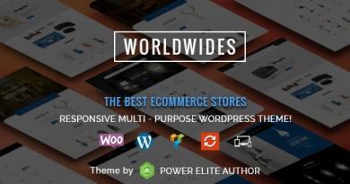 WorldWides - Multipurpose WooCommerce Theme 4