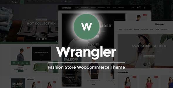 Wrangler - Fashion Store Multipurpose Responsive WooCommerce WordPress Theme 1