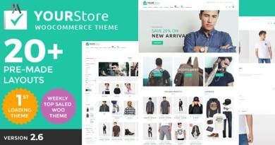 YourStore - Woocommerce theme 4