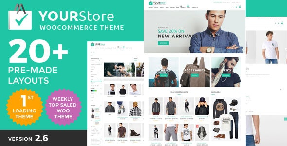 YourStore - Woocommerce theme 1