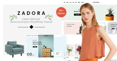 Zadora - Clean, Minimal WooCommerce WordPress Theme 3
