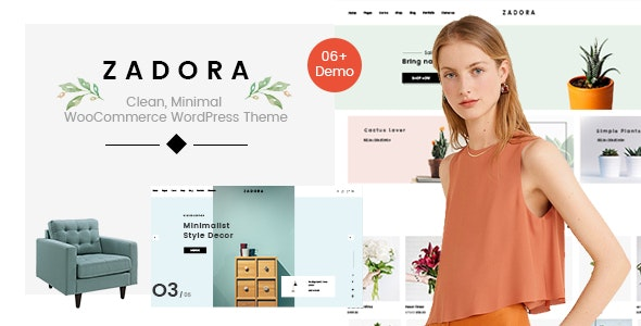 Zadora - Clean, Minimal WooCommerce WordPress Theme 13