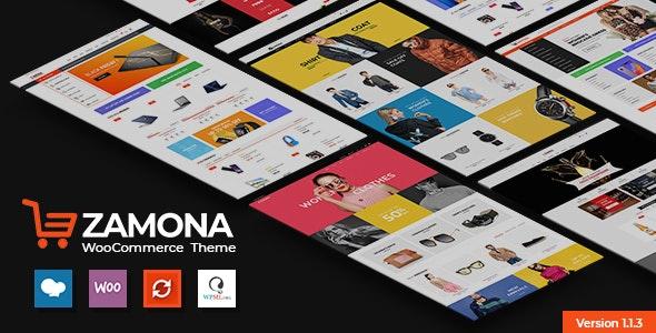 Zamona - Responsive WooCommerce WordPress Theme 1