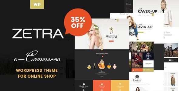 Zetra - A WordPress Theme for eCommerce Websites 1