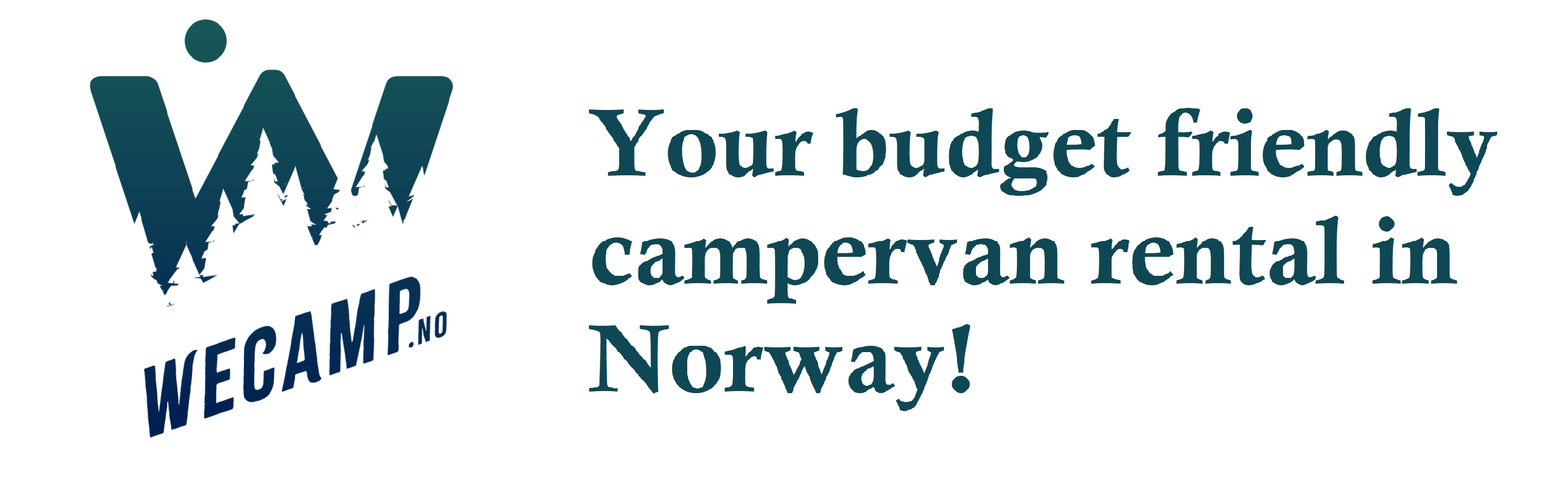 Camper van rental in Norway