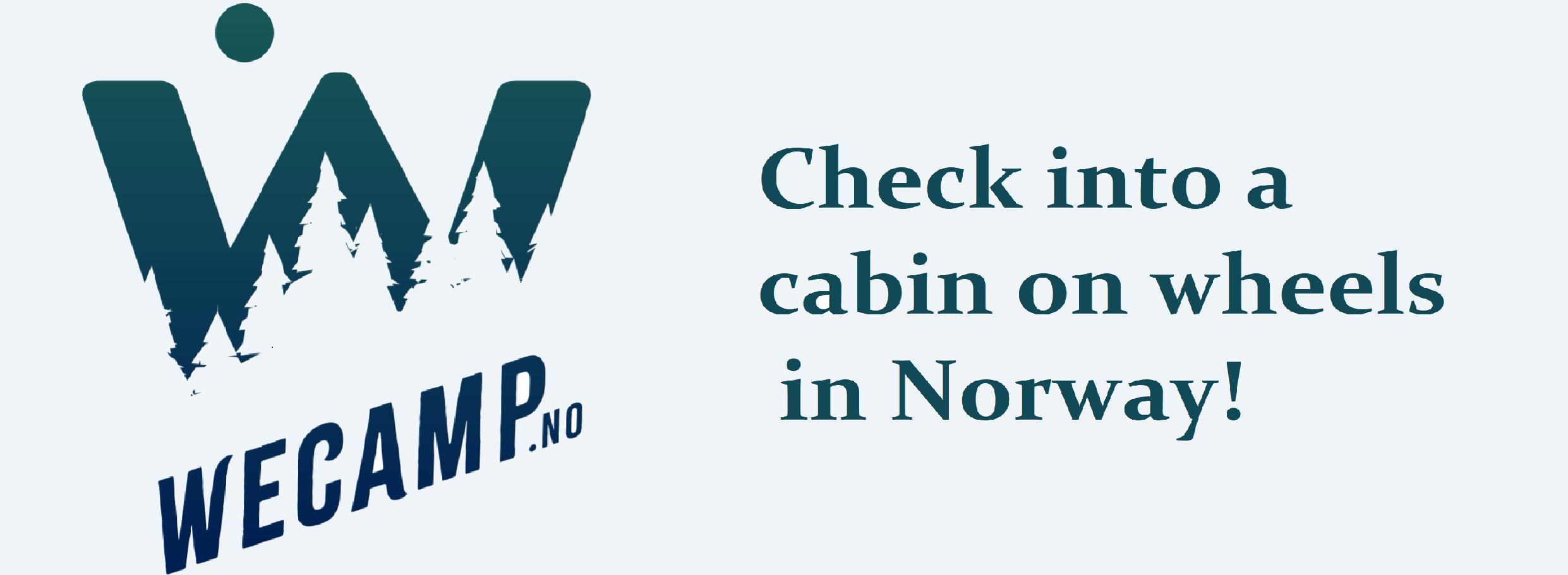 Camper van rental in Norway