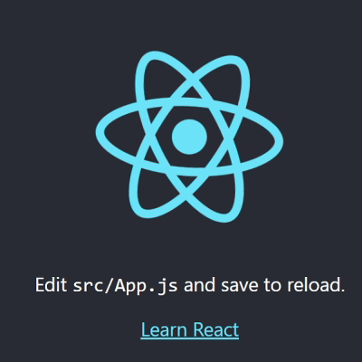 ReactJS App Launched in Browser