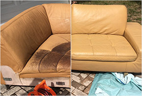 Leather Furniture Repair - Residential Vinyl & Leather care services