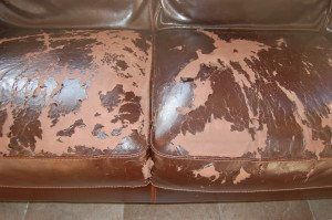 Bonded Leather Repair by CCI