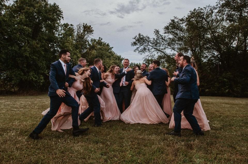 cherish and brett // wedding