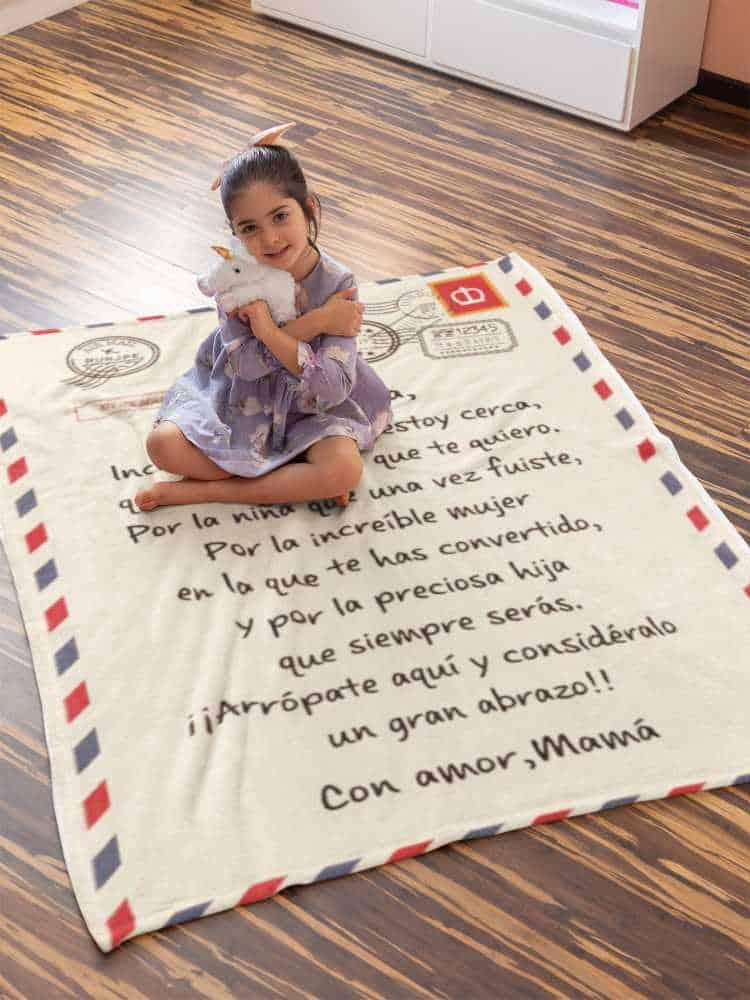 manta / cobertor Mama para Hija