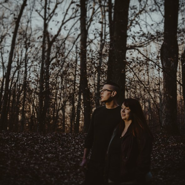 Bernheim Forest Engagement Photography
