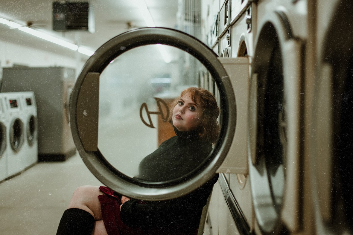 Laundromat Portrait Photography Louisville Kentucky